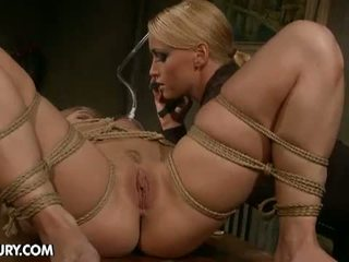 torture, painful, shaved pussy