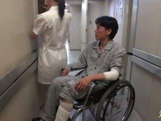 Hikaru ayami de roken ontzagwekkend chinees verpleegster has gemaakt liefde groot