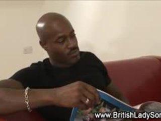 british noen, alle cumshot fin, interracial