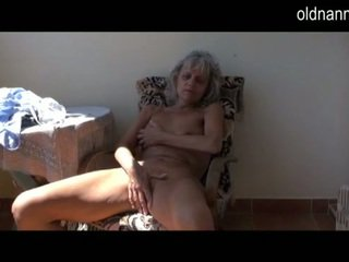 Spicy Elder Old Pleasuring Not Far From Toy