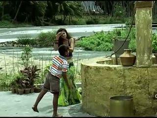 Nayanthara Mainit navel at suso pagtitipon