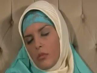 Horney arab tyttö