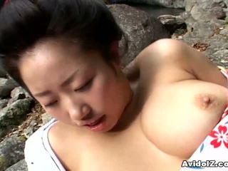 Sexy Geisha Kotone Yamashita Fucked Hard