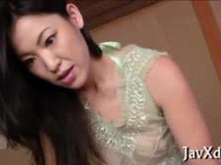 brunetka, japoński, obciąganie