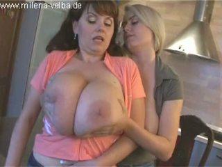 Milena velba lesbian