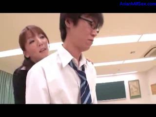 Teacher Giving Handjobs For 2 Schoolgu...