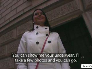 امرأة سمراء على الانترنت, حقيقي كبير الثدي, اللسان hq