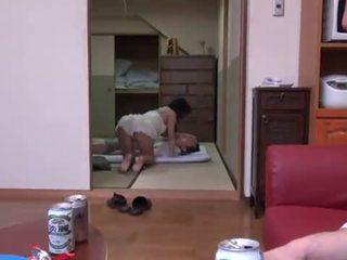 Rina ooshima appreciates multiposition xxx -ban a living szoba