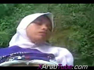 Recorded giới tính tape với sừng hijab