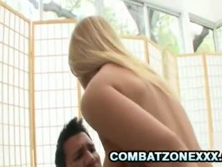 Cali Carter - Petite Blonde SweetHeart Riding A Latino Daddy Cock