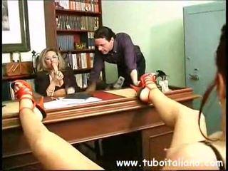 lesbička, amatoriale, italština