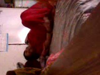 Pakistanilainen kotiäiti sisään huijaaminen yksityinen video-