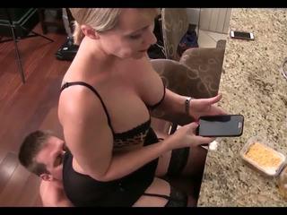 ass licking, brune, matura