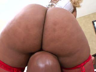 große brüste, schwarz und ebony, haupt;