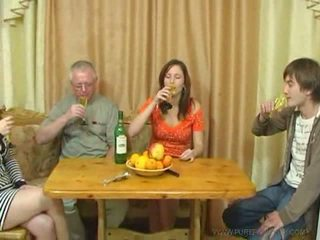 Pure Russian family sex Video