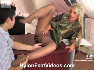 Cornelia și adam mindblowing ciorapi picioare acțiune