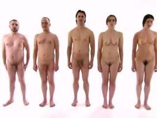 의료 교육 옷을 입은 여성의 벌거 벗은 남성 순간 부터 tses-3