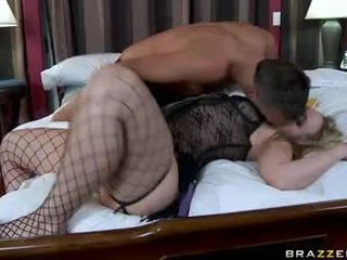 Large Butted Alexis Texas Slurps On Her Husbands Pecker
