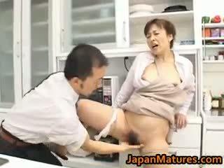 brunett, japansk, gruppsex