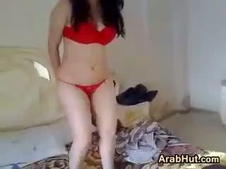 Arab Chick Teasing Her Beautiful Body