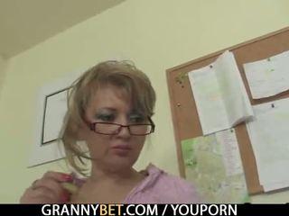 verklighet, gammal, mormor
