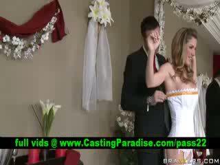 Kayla Paigestunning busty bride