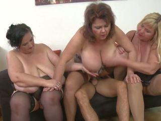 group sex, big boobs, grannies