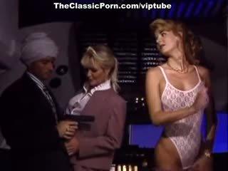 vintage, threesome, pornstar