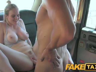 Faketaxi cabby has beginners luck su bionda