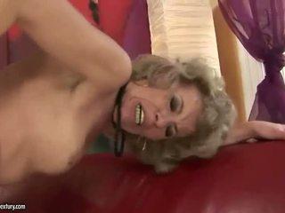 Old blondinke appreciates velika seks