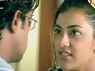 Telugu näyttelijätär kajol agarwal näyttää koekäytössä