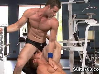 Gavin Waters And Rusty Stevens. Workout And Fuck.