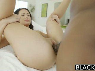 Blacked rumaja beauty tries interrasial silit bayan