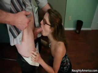 hardcore sex, blowjob, glasses