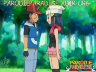 Pokemon הנטאי ash x dawn