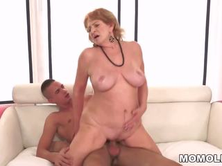 Granny Teacher and Her Younger Student, Porn b2