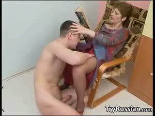 Vyzreté ruské matka fucks
