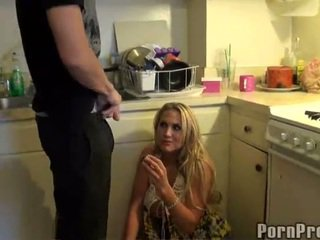 Blonde Alanah Rae With Oustanding Jugs Gags Onto Rod