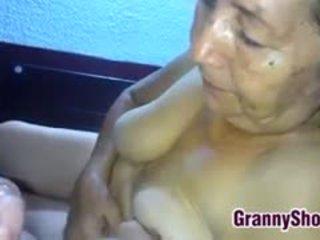 granny, blowjob, latin