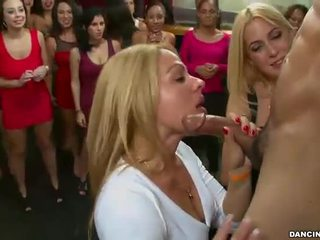brunette, fucking, sucking cock