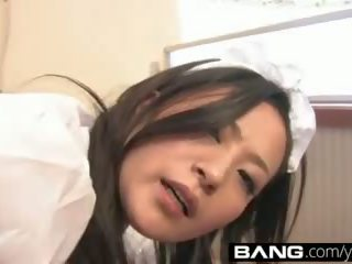 brunete, jauns, japānas