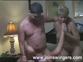 Pieauguša grupa swingers intimacies