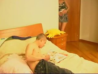 Russian Granny Women-sex With Guys