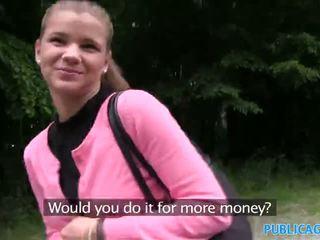 Publicagent innocent ieško paauglys dulkinimasis į the woods