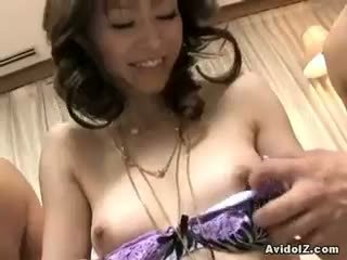 gyzykly brunette all, most blowjob fun, fresh threesome nice