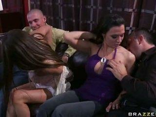 Rachel roxx এবং rachel starr কেলি সঙ্গে গাল lads