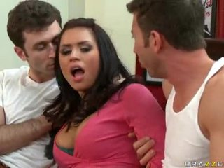 Eva Angelina Gets Dped By Jordan Ash A...