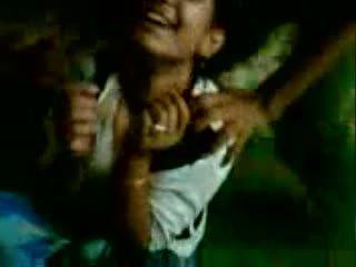 Reeja y rakesh india facultad adolescentes disfruta