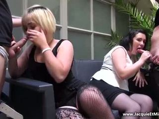 J&M - Group sex with Clarisse and Aurelie