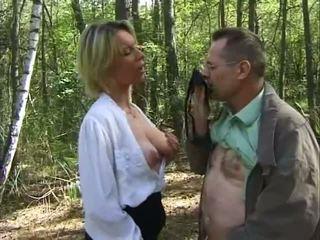 Promenade dans les bois, 무료 프랑스의 포르노를 25